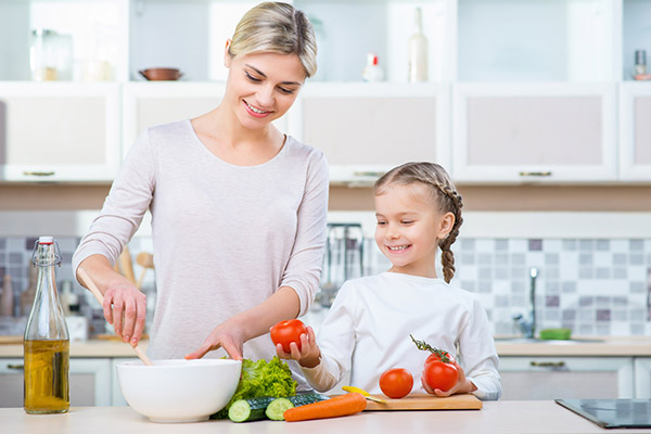 Vaříme zdravě a chutně pro děti a s dětmi