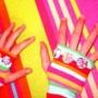Barevné rukavice