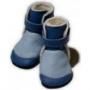 Capáčky zimní modré