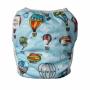 Plenkové plavky pro kojence, vzor Vznášedla