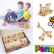 Vyhrajte dřevěnou stavebnici PONY 01