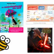 Soutěž o 5 různých kalendářů na 2017