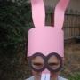 Maska na karneval - ZAJÍC