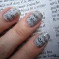 Novinové nehty