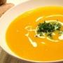 Halloweenská dýňová polévka