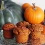Dýňové muffiny s ořechy