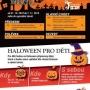 Halloweenský dětský den a Halloweenské menu