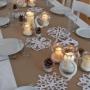 Lednový slavnostní stůl