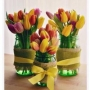 Jarní vázičky s tulipány