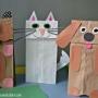 Papírová zvířátka