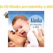 Soutěž o 5x CD Klasika pro maminky a děti