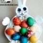 Zajíček - talíř na vajíčka