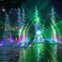 Vodní fontána s ohňostrojem