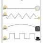 Grafomotorické cviky- cesty