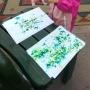 Malování s deštěm