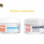 Soutěž o 3 balíčky produktů značky Mixa, odborníka na citlivou pleť