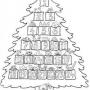 Adventní omalovánkový kalendář