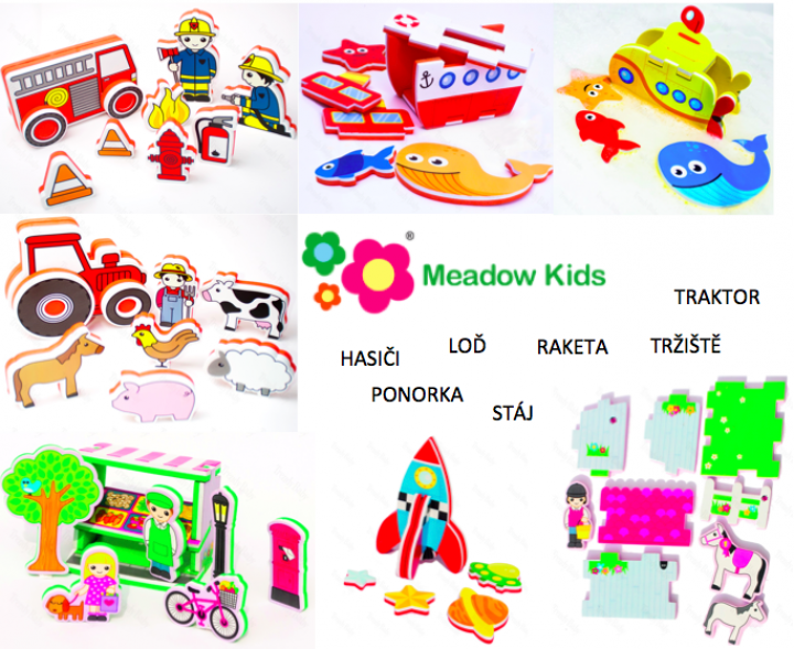 Meadow Kids sady do vody