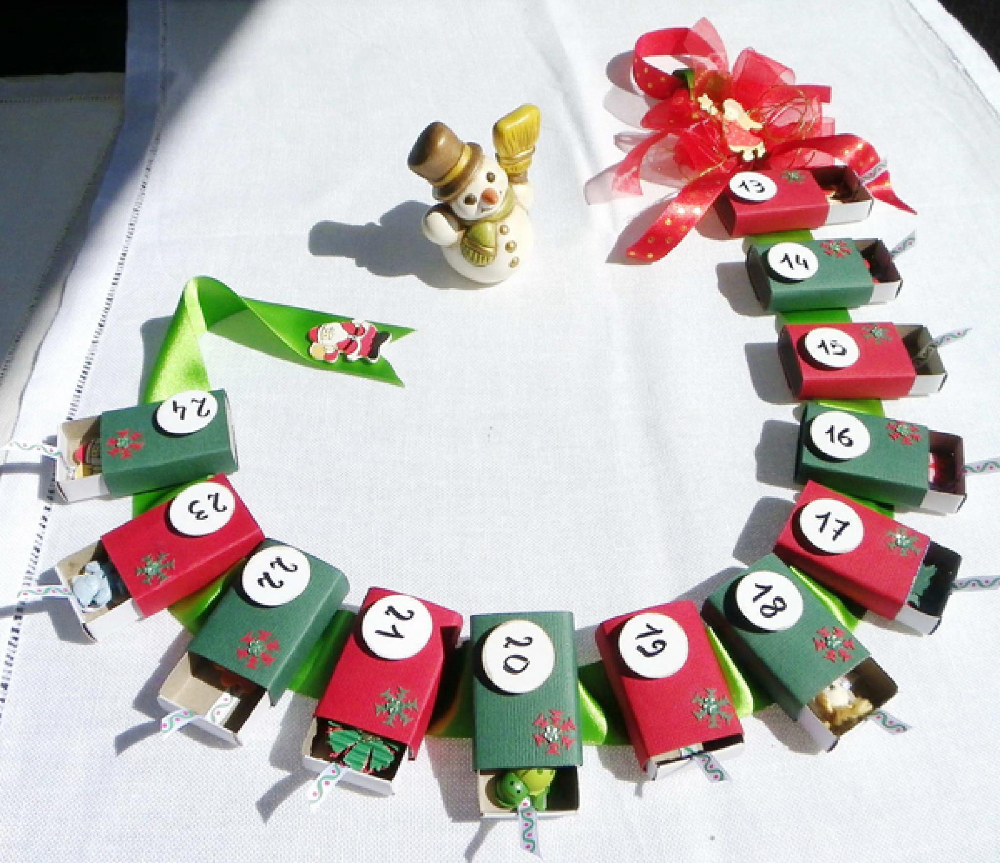 www adventni kalendar Adventní kalendář z krabiček od sirek / Návody pro tvoření  www adventni kalendar
