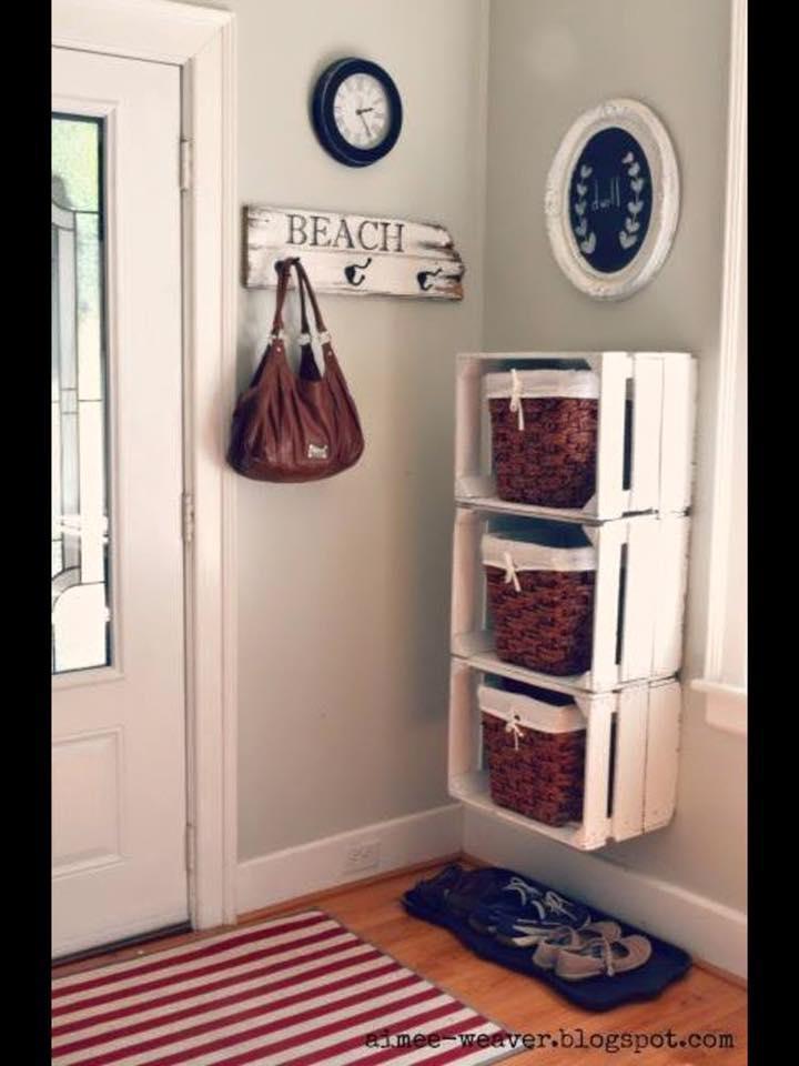 Хранение вещей дома: идеи, изготовление своими руками, фото
