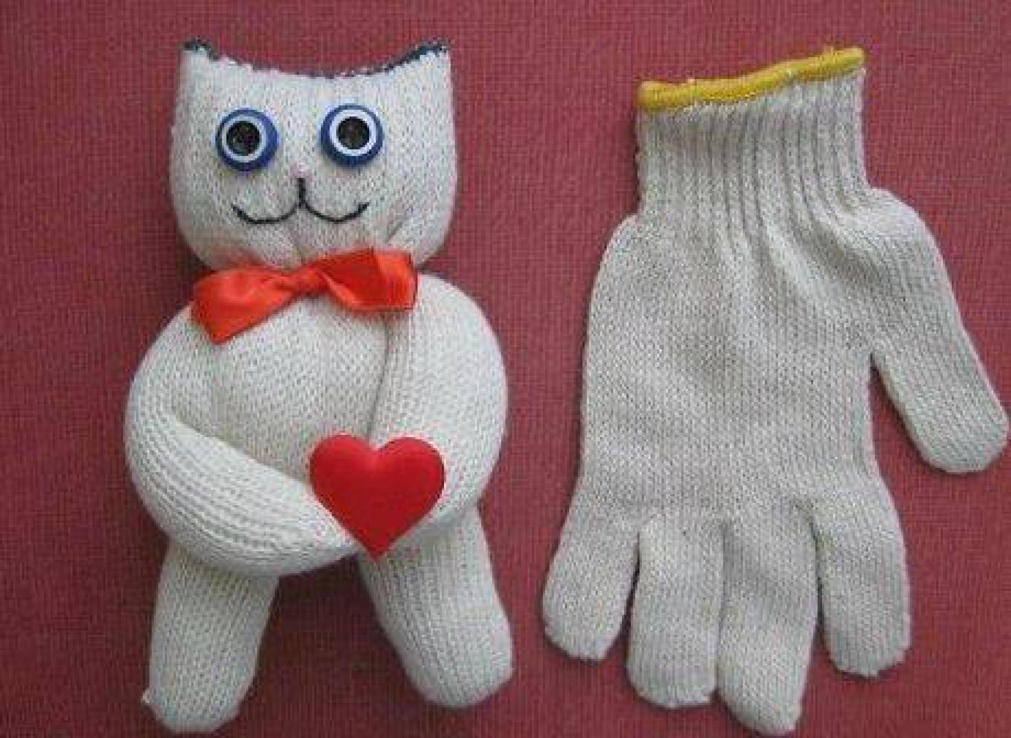 Поделка кошка своими руками ребенку