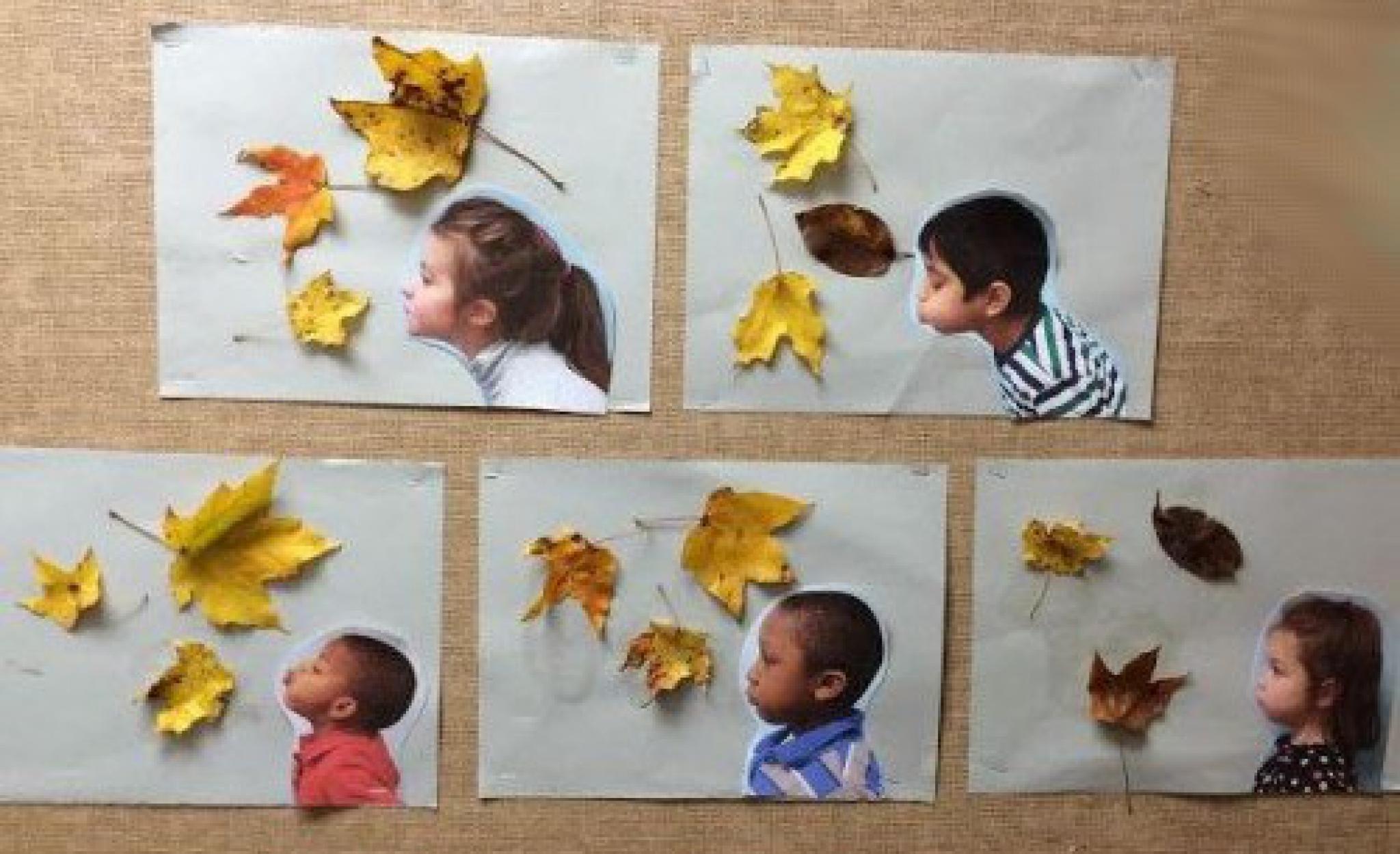 Поделка осенью с ребенком 3 года