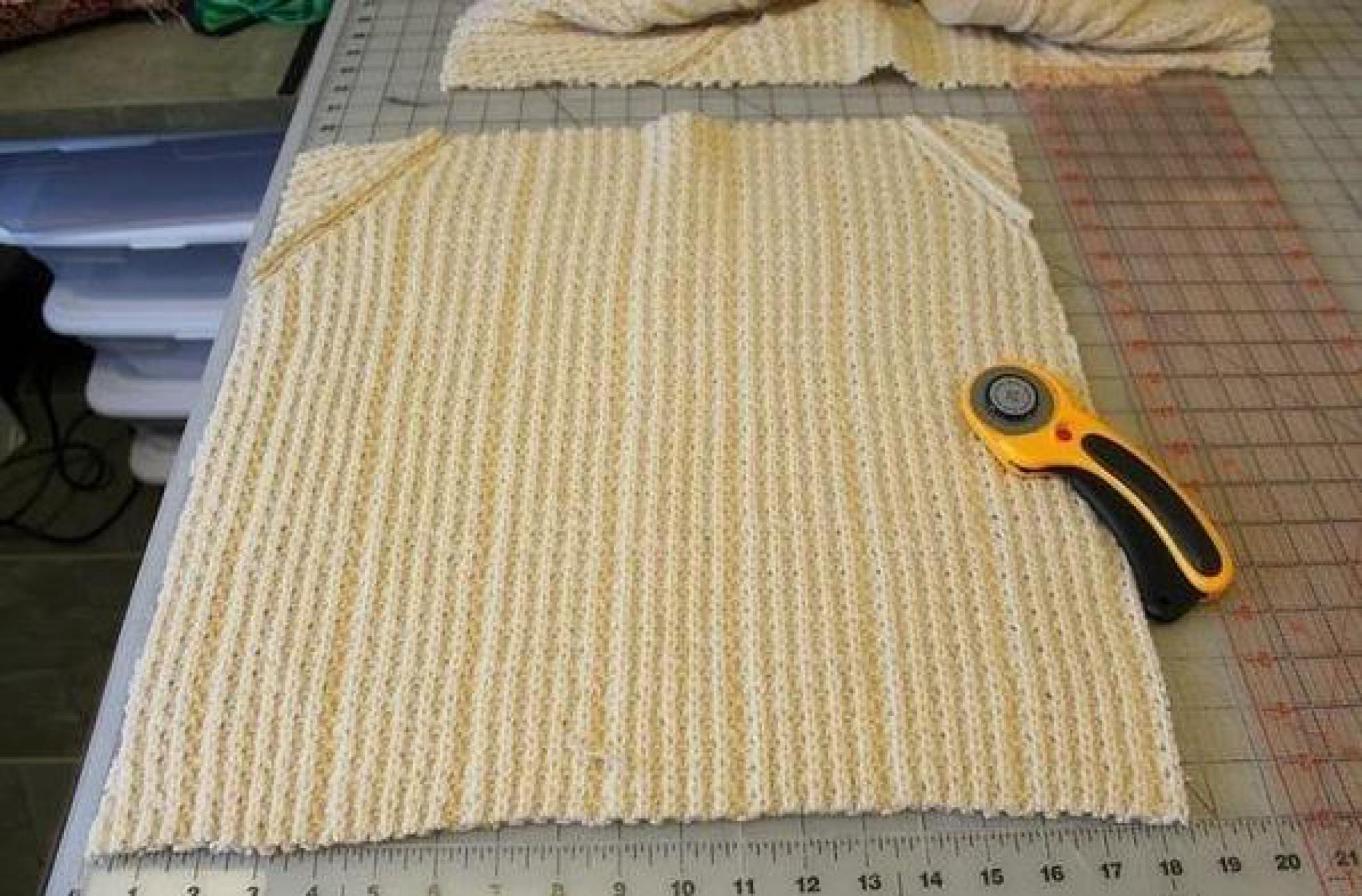 Как сшить теплую юбку из пледа 53
