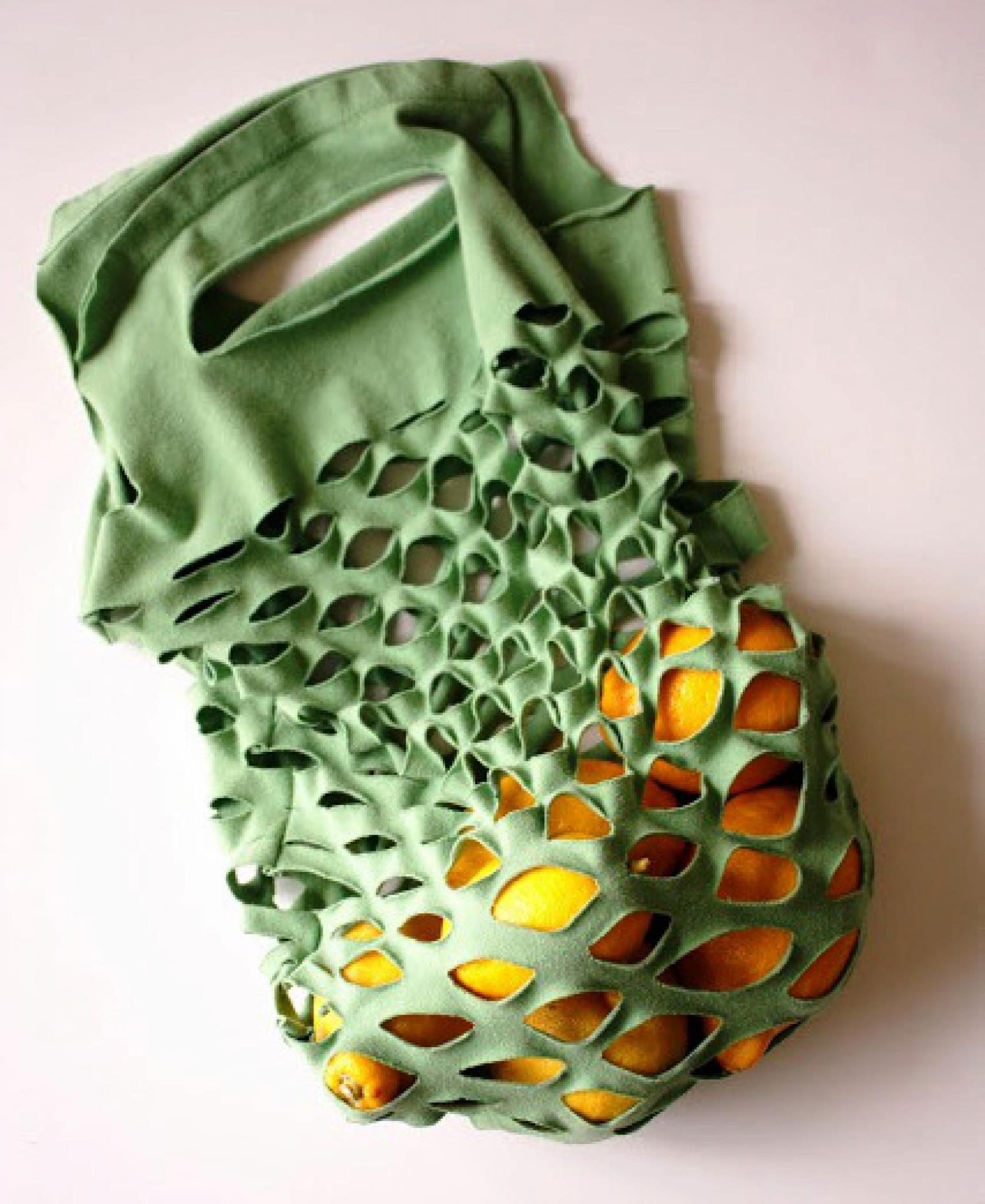 9a4cdb15fe8 Taška ze starého trička   Návody pro tvoření