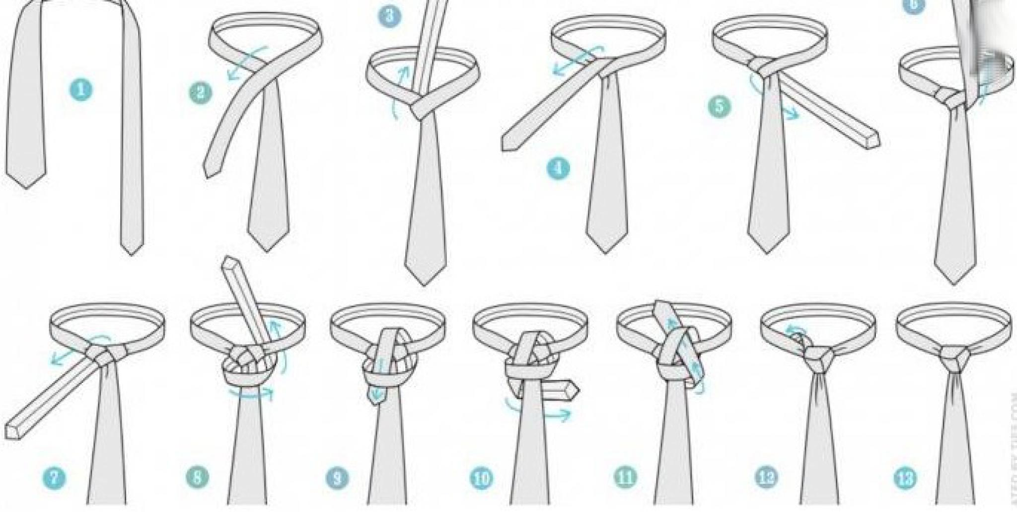 Most fashionable tie knot 39