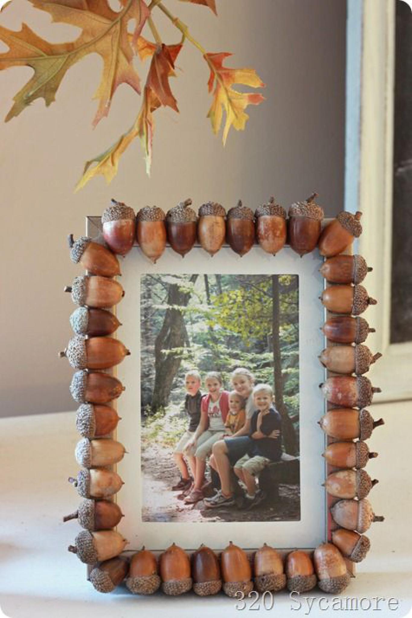 рамки из природного материала своими руками для детей в детский сад - Портал самоучек