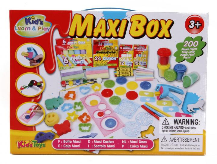 Alltoys Kreativní sada Maxi Box 200 pcs