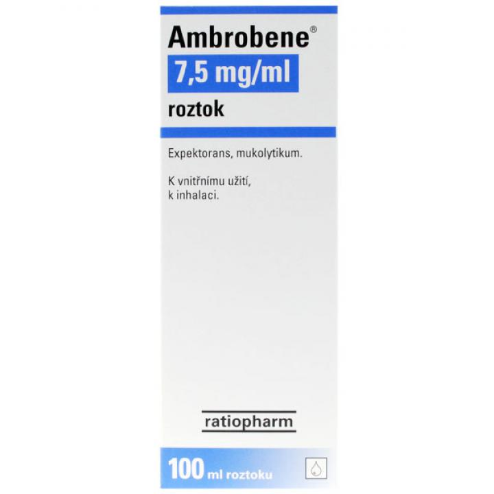 AMBROBENE 7,5mg/ml roztok