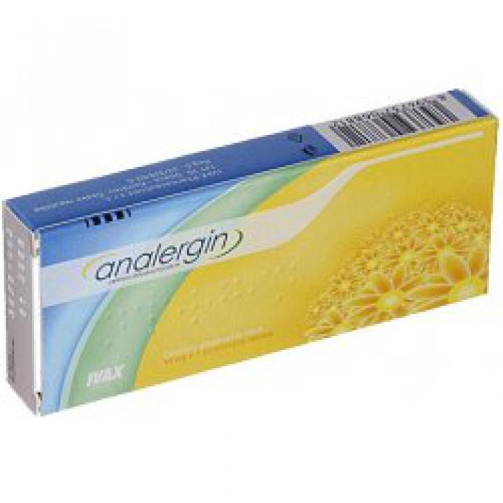 Analergin tablety 10mg
