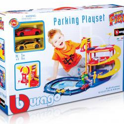BBurago Parking Playset + 2 auta