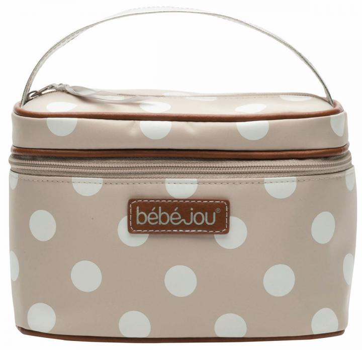 Bebe-jou Beautycase natural puntík
