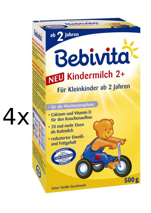 Bebivita JUNIOR 2+ - 4 x 500g