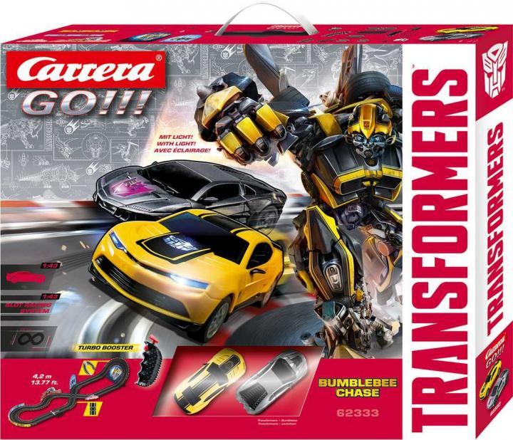 Carrera Autodráha GO Transformers Bumblebee Chase