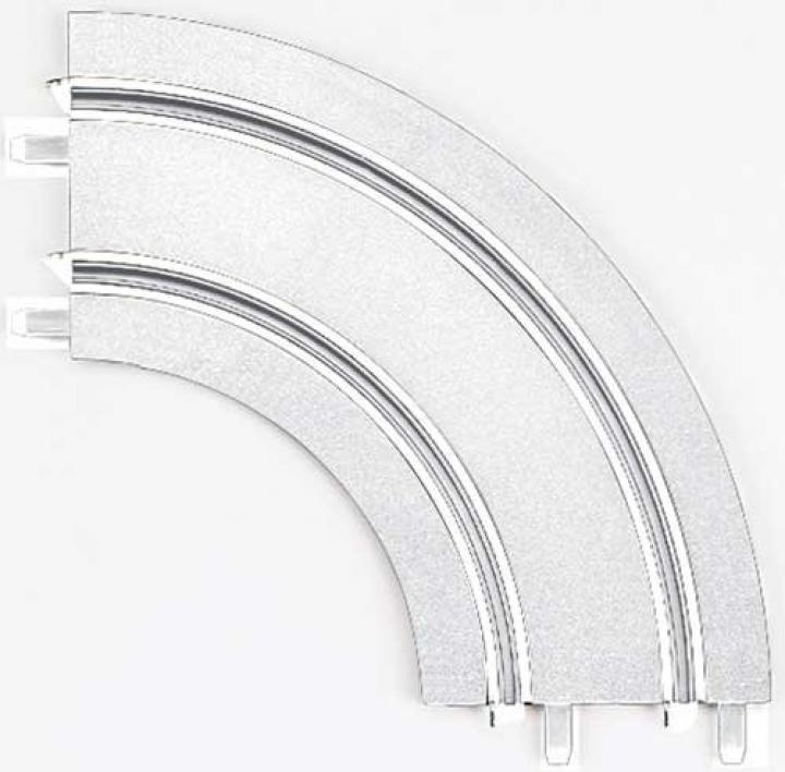 Carrera GO/D143 Zatáčka 1/90 led (2ks)