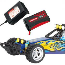 Carrera R/C auto Buggy Blue Scorpion