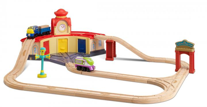 Chuggington Set s depem