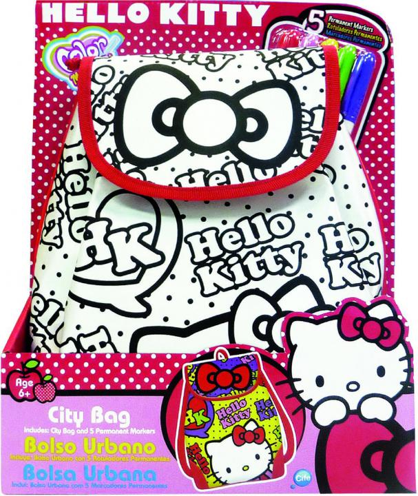 Color Me Mine Batůžek Hello Kitty