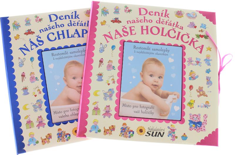 7e685b7239a Deník našeho děťátka NÁŠ CHLAPEČEK   NAŠE HOLČIČKA   Produkty ...