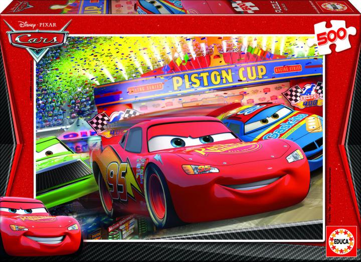 Educa Puzzle Disney Cars 500 dílků