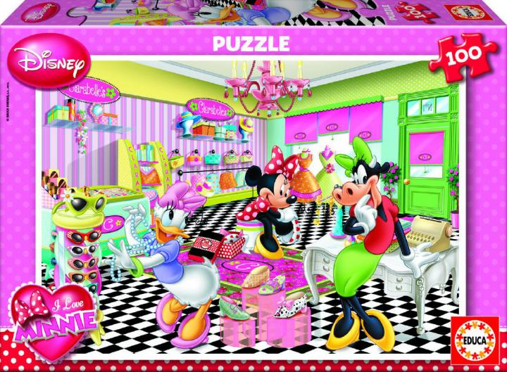 Educa Puzzle Disney Minnie, 100 dílků