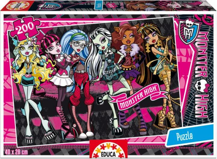 Educa Puzzle Monster High, 200 dílků