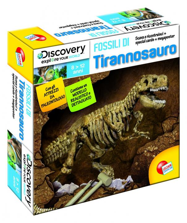 EP LINE Discovery fosilie T-rex