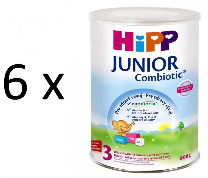 HiPP 3 Junior Combiotic - 6 x 800g