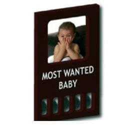 KidZZcast My First Wanted - Black