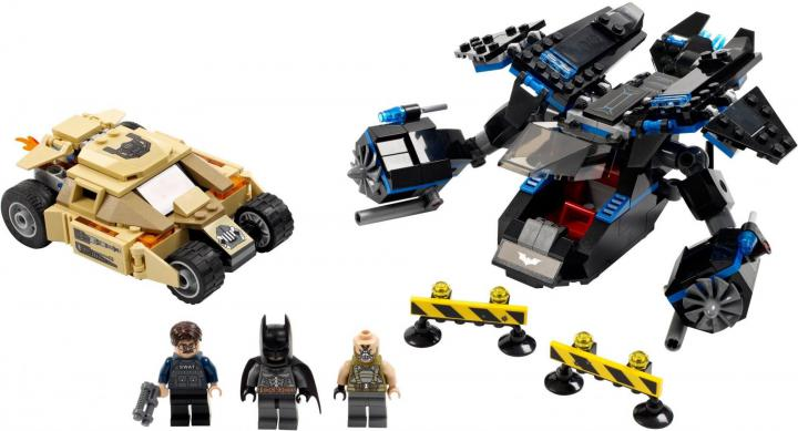 Lego Super Heroes 76001 The Bat vs. Bane: Krkolomná honička