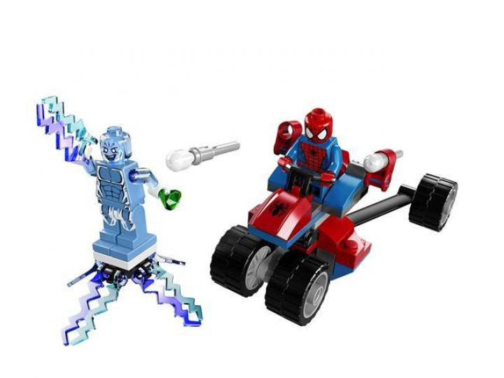 Lego Super Heroes 76014 Spider-Trike vs. Electro